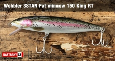 Wobbler 3STAN Fat minnow 150 King