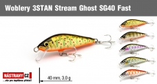 Wobbler 3STAN Stream Ghost SG40 Fast