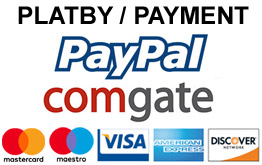 Přijímáme platby Paypal